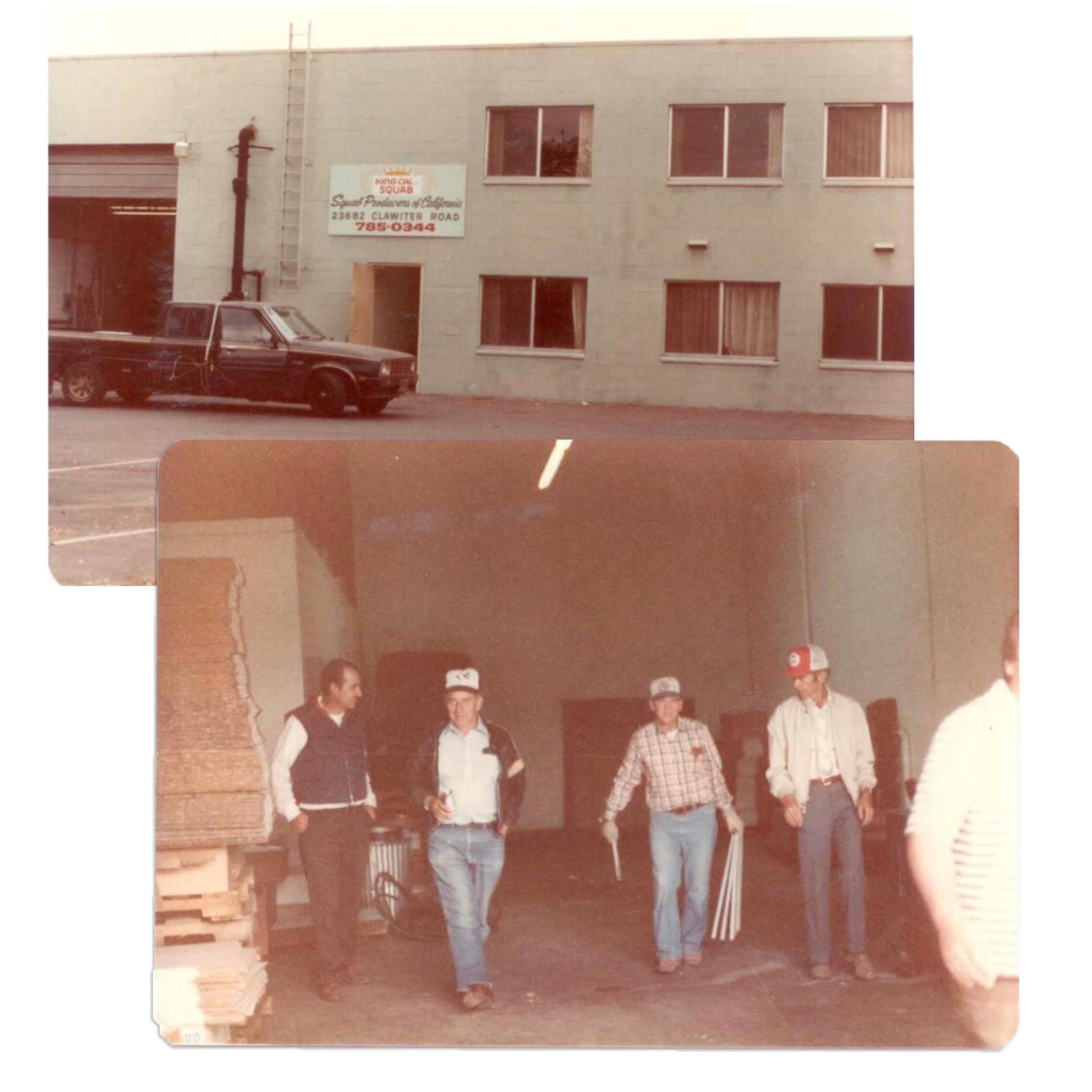1982. Moving day from old plant in Hayward, California to new facility in Modesto.