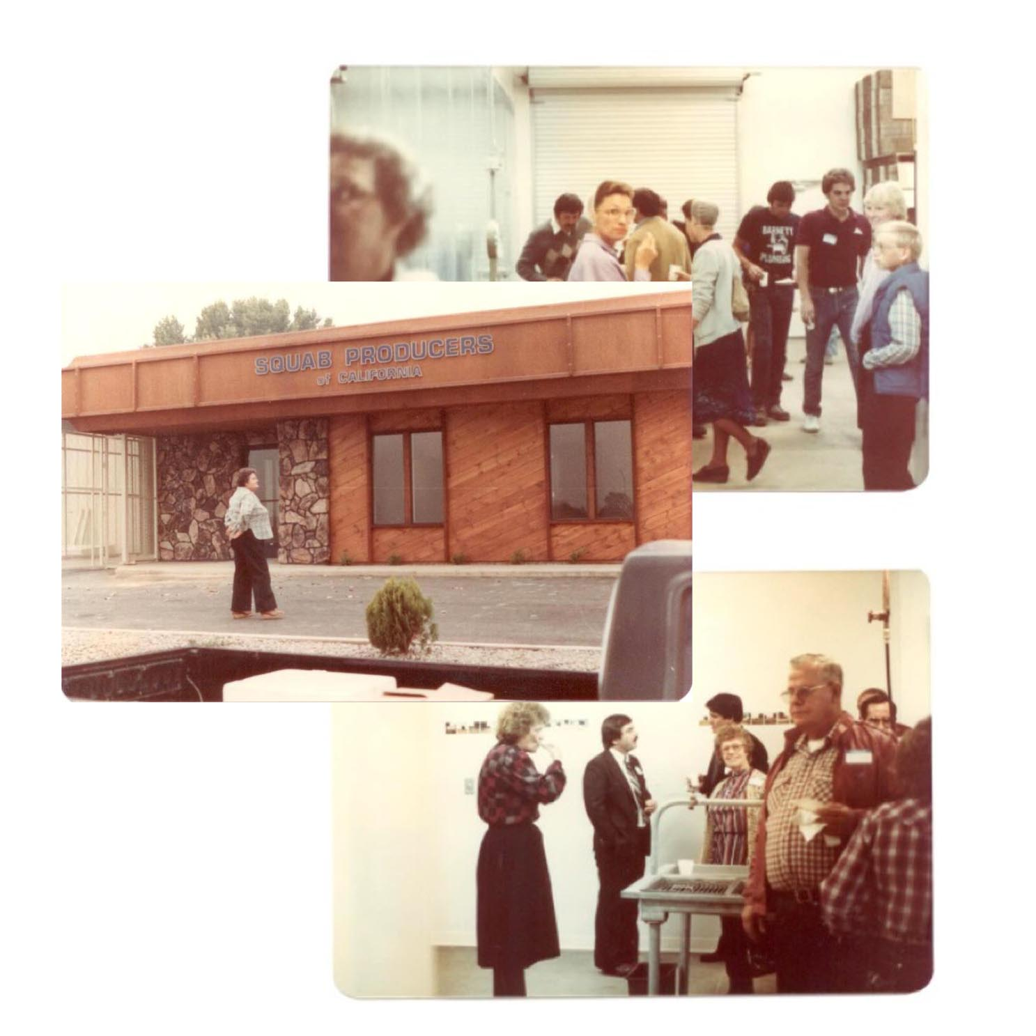 1982. Grand opening of the new SPOC processing plant in Modesto, California.